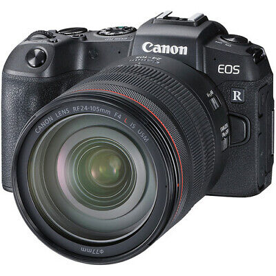Canon EOS RP RF 24-105mm f/4L IS USM Kit (No Adapter) Stock in EU