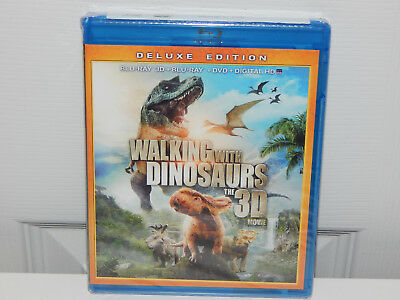 Walking With Dinosaurs The 3D Movie Deluxe Edition Blu-Ray 3D + Dvd + Digital Hd