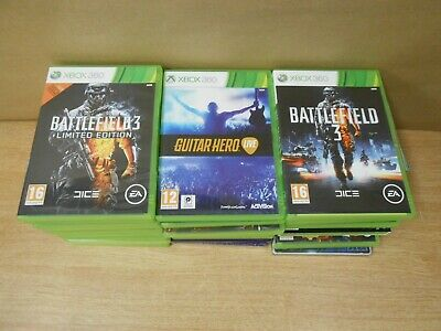 31 x Xbox 360 Bundle Job Lot Games Call Of Duty Medal Of Honor Farcry Alan Wake