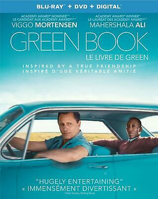 Green Book Blu-ray /DVD/ Digital with Slipcover- Brand New & Sealed- STEF-403