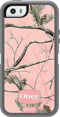 OtterBox Defender Series Rugged Protection AP Pink Case for Apple iPhone 5 5s SE