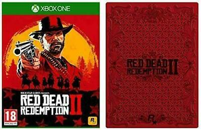 Red Dead Redemption 2 Xbox One Collectors SteelBook Edition Game + Steel Case BN