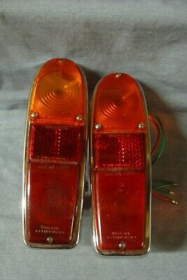Rootes Reliant Hillman Rear Lucas L572 Lamps Refurbished