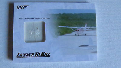 James Bond Archives 2014 Jbr30 Franz Sanchez's Airplane  Numbered Relic Card