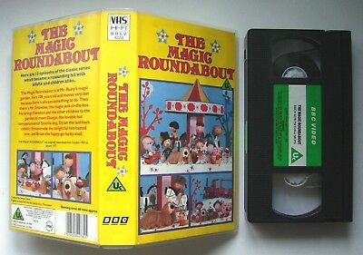 The Magic Roundabout - BBC - VHS Video