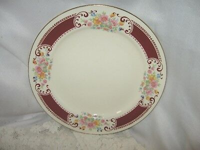 """Vintage Homer Laughlin Lady Alice Luncheon Plates 9""""  E49N6"""