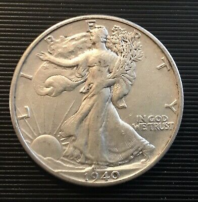 1940 P WALKING LIBERTY HALF DOLLAR Silver Coin