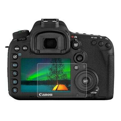 Glass Screen Protector for Canon 7D Mark II / 7D2 2D 9H Tempered Ultra Thin