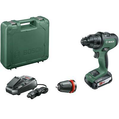 Bosch ADVANCEDIMPACT 18v Cordless Combi Drill + 1 Attachment 1 x 2.5ah Li-ion