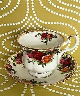Royal Albert Old Country Roses Bone Tea Cup And Saucer