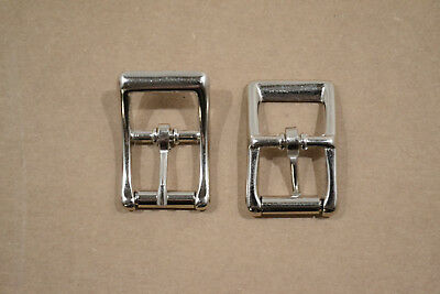 """Roller Buckle - 3/4"""" - Nickel Plated - Pack of (F398)"""