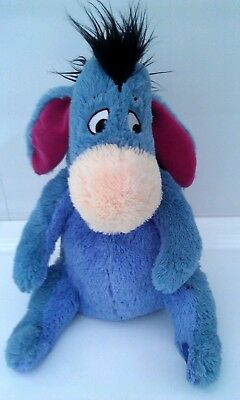 """Authentic Disney Store Stamped Winnie The Pooh Eeyore 12"""" Soft Toy"""