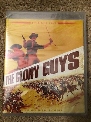 THE GLORY GUYS Blu-ray TWILIGHT TIME - Brand New Sealed