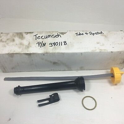 NEW TECUMSEH OIL DIPSTICK TUBE  FITS TILLERS SNOW BLOWERS  35647A  OEM