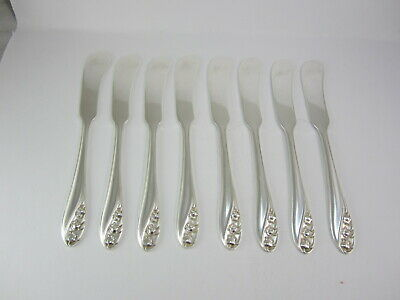1 Lily Of The Valley By Gorham Sterling Silver Butter Spreader No Monogram