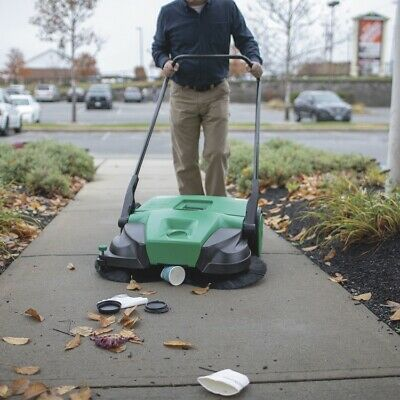 Bissell, BigGreen Commercial BG-477 Deluxe Turbo Sweeper, 13.2 Gallon Capacity