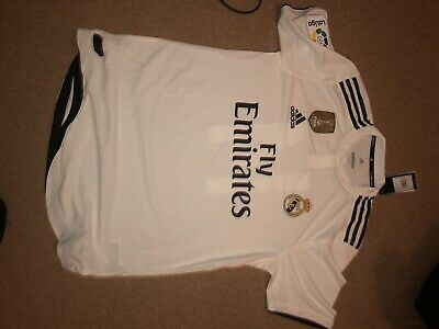Real Madrid FC Home Shirt Top 2018/19 Season Brand new w/tags Size Large