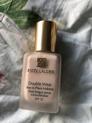 Estee Lauder Double Wear Foundation 0N1 Alabaster - Used Once