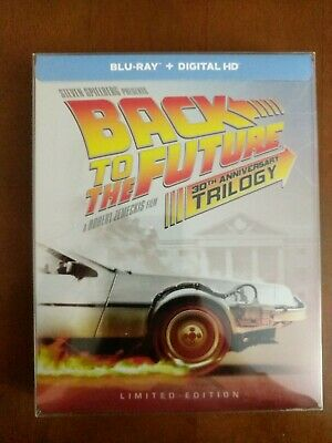 Back to the Future Trilogy Steelbook (Blu-ray Disc, 2015, 4-Disc Set)