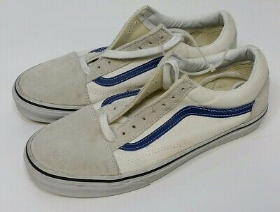 e2bc98d2a472 VANS OFF THE Wall Leather Sneakers Men US 9 Women US 10.5 UNUSED NO ...