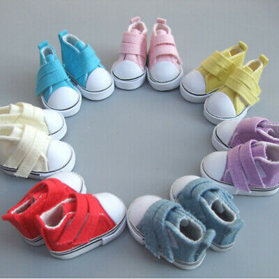 1d923a5c064d 2 Pai mini cute Canvas Sport tennis shoe made for American Girl Doll  Clothes toy
