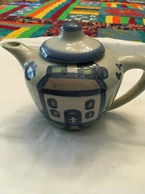 M.A. Hadley Pottery Country Farmhouse Tea Pot