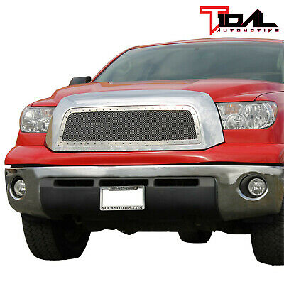 07-09 Toyota Tundra Rivet All Chrome Stainless Steel Wire Mesh Packaged Grill