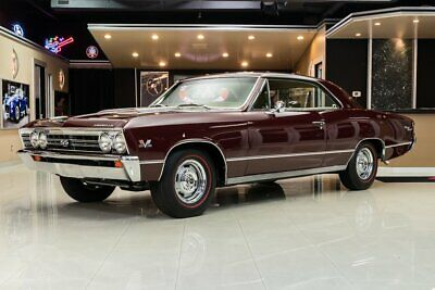1967 Chevrolet Chevelle SS Frame Off, Rotisserie Resto! # Matching, 396ci V8, TH400 Automatic, PS, PB, A/C