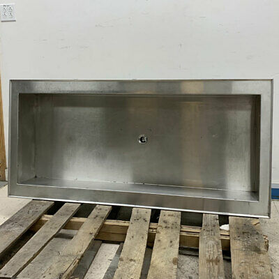 """Vollrath 36452 Cold Well - 4 Pan Ice Cooled Drop In Cold Food Well - 55""""L x 26""""W"""