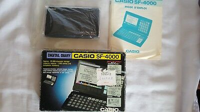 RARE CALCULATRICE  CASIO SF 4000  en excellent état