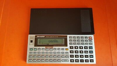 Sharp 1403  RARE CALCULATRICE vintage pocket computer 1984 LCD
