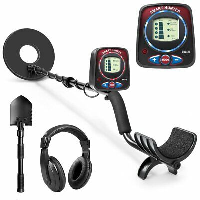 Urceri Waterproof Metal Detector Deep Sensitive Search Pro Gold Digger Hunter US
