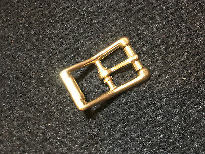 """Roller Buckle - 1"""" - Solid Brass - Pack of 10 (F264)"""
