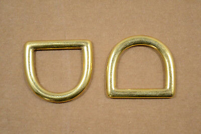 "D Ring - Solid Brass - 1"" - Pack of 24 (F23)"