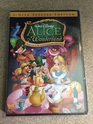 Alice in Wonderland (DVD 2010 2-Disc Set, Un-Anniversary Special Edition) Disney