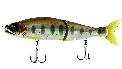 """Lot of 2 Aggressive Perch Jointed crankbait Lure Gan Craft Osa Remake 3.15/"""" .7oz"""