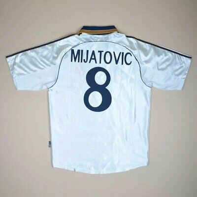 f593750b740 Real Madrid 1998 2000 Home Football Shirt Jersey Adidas  8 Mijatovic Size M