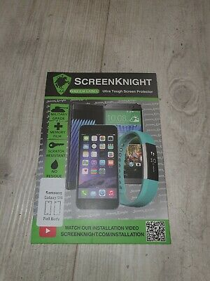 ScreenKnight Samsung Galaxy S10 screen protector - curved fit