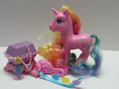 My Little Pony G3 Super Long Hair Rarity  With Complete Accessories Set