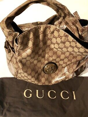 57278dd962e GUCCI CRYSTAL HYSTERIA Monogram Hobo Large Bag With Duster -  419.00 ...