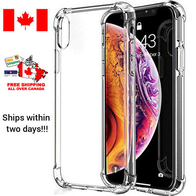 Apple iPhone X XR XS Max Ultra Thin Rubber Silicone Case Gel TPU Soft Cover