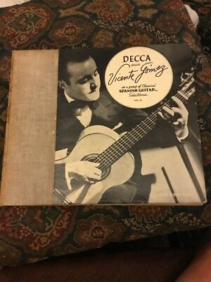 Vicente Gomez In A Group Of Spanish Guitar Selections Vol.2 78rpm