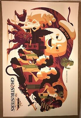 MONDO Ghostbusters by Tom Whalen Poster Print SDCC 2018 Bill Murray