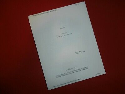 Unmade GODZILLA 1994 Movie Script by Ted Elliot & Terry Rossio TRISTAR 135 Pages