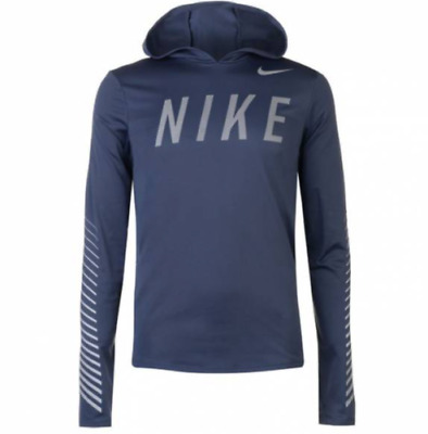 8c3e5a751129 AQ4849-429 New with tag Men s Nike Flash reflective Miler hooded running  shirt