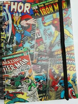 THOR FACE PENCIL CASE RETRO MARVEL COMICS SCHOOL STATIONERY UNI WORK ASGARD LOKI