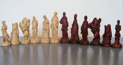 War of Independence chess set latex moulds