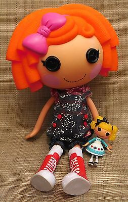 2009 Lalaloopsy Sunny Side Up Twin Doll Orange Hair Girl Full Size