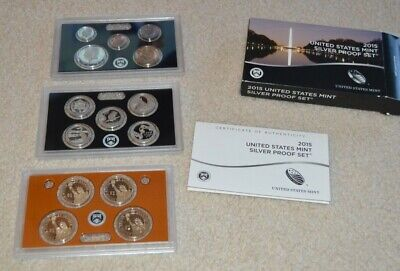 United States Mint Silver Proof Set 2015