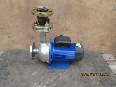 38 mm -LOWARA - STAINLESS STEEL PUMP - 3 PHASE - VERY LITTLE USE FROM NEW -